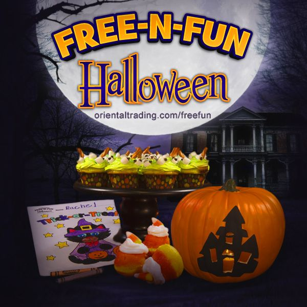Free Halloween Stencils, recipes and coloring pages from Oriental Trading Co.