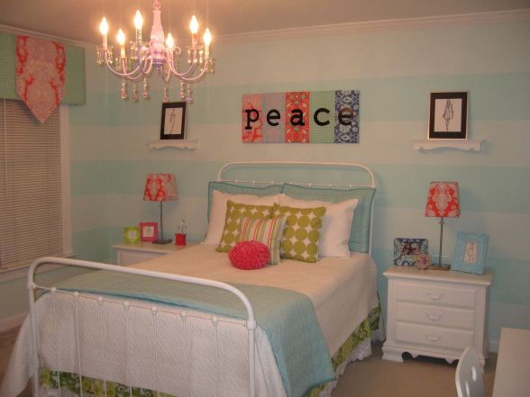 Color for baby girl nursery Sherwin Williams Tame Teal and