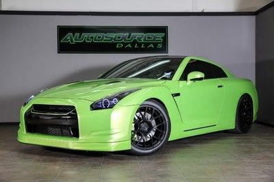 2010 NISSAN GTR, ADV.1 WHEELS, VERDE ITHACA, HIGHLY CUSTOMIZED! WE FINANCE!
