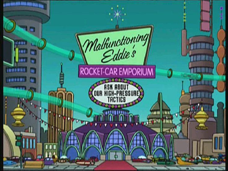 File Malfunctioning Eddie 39 s Rocket Car The Futurama