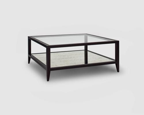 Club Wenge Oak/Antiuqe Mirror Coffee Table by Furniture for Home