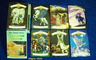 sibila esotérica: UNICORNIOS MÁGICOS, Cartas Oráculo. Doreen Virtue