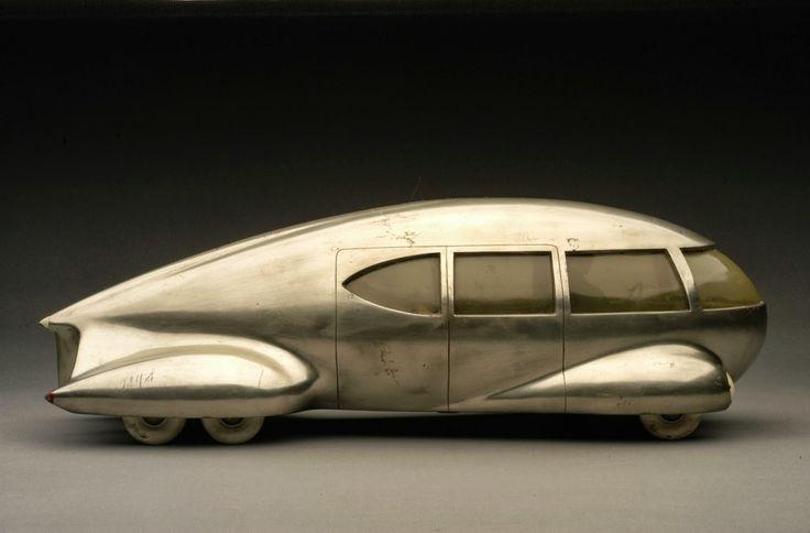 Norman Bel Geddes, Motor Car No. 9, 1933. Photo:Edith Lutyens and Norman Bel Geddes Foundation/Harry Ransom Center, USA.