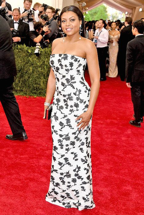 Taraji P. Henson arrives at MET Gala 2015...
