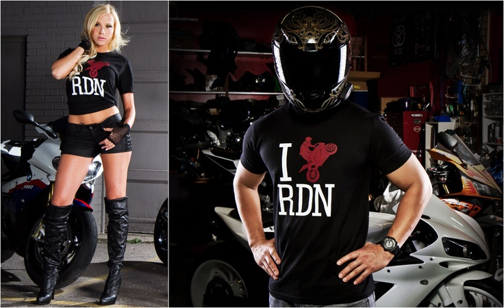 Stay Up. Motolifestyle Tee: I Love RDN