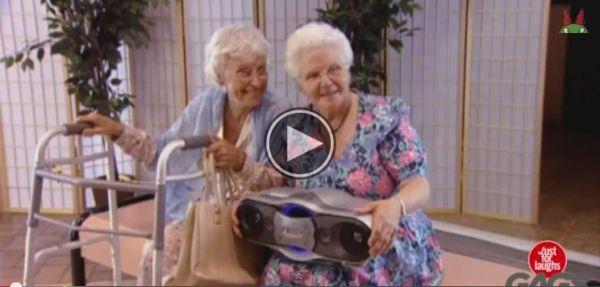 These Naughty Grandmas Will Make You LOL, Trust Me!