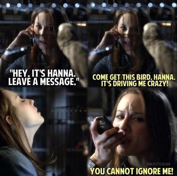 Pretty Little Liars Season 4--- You can't ignore me!