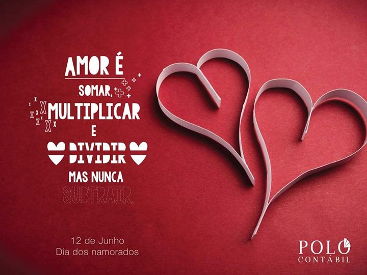 Cartão de Dia dos Namorados desenvolvido pela Agência Conceito.