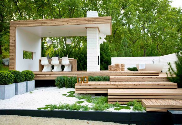 Best in show at Melbourne International Flower and Garden Show. Designer Marnie Lewis, 'Nord' garden.