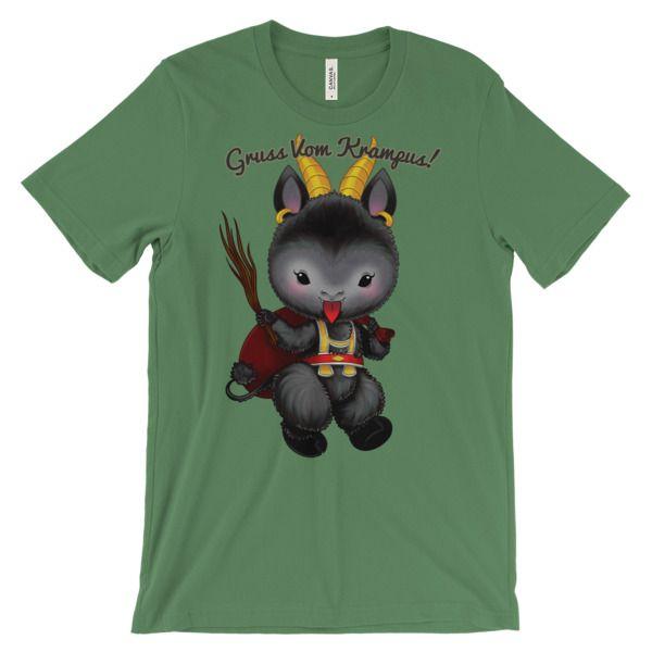 Krampus Tshirt Artetak Online Store Powered By Storenvy Indie Brands Free Online Store Online Store