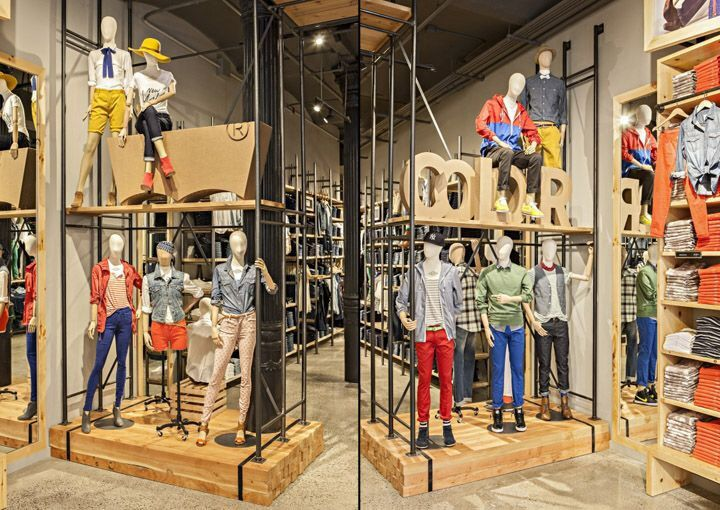 Levi 39 S New York Store Design Display Vmd Pinterest Store Design Levis And Design