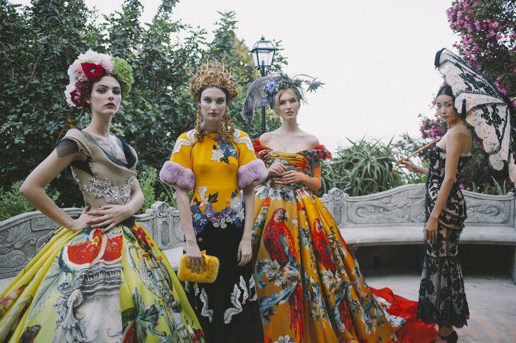 Dolce e Gabbana, il bosco delle fate - Corriere.it