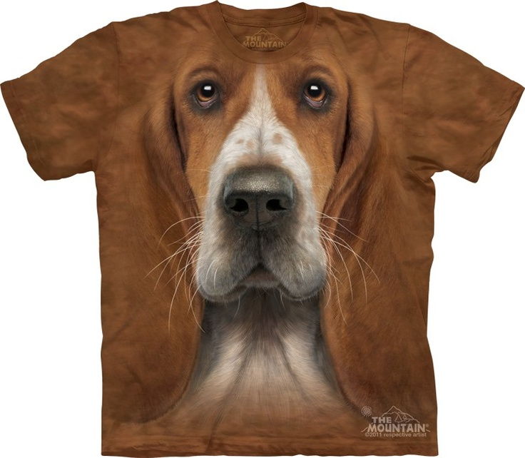 Basset hound shirt @ Epic-Shirts.com - Available at website