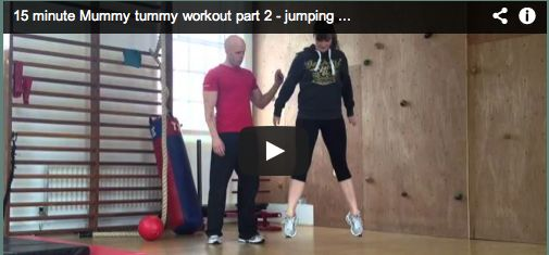 15 minute Mummy Tummy Workout – How to lose your mummy tummy – part 2