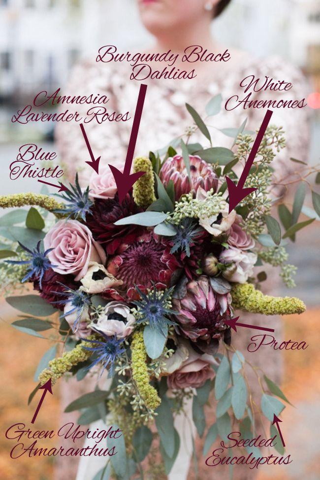 Cascade Bridal Bouquet Instructions : Best images about bouquet breakdowns recipes