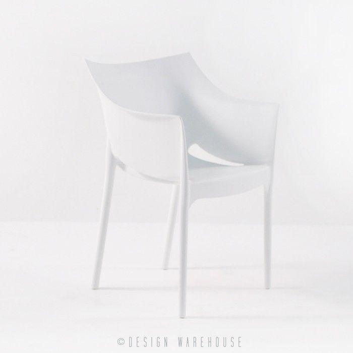 Wing Outdoor Chair in Polypropylene (Grey) | Design Warehouse NZ