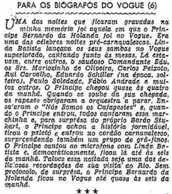 Concluindo a publicação de Ibrahim Sued, em agosto de 1955...