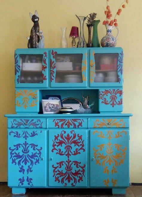My cupboard. DIY.
