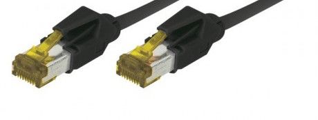 cable rj45 s/ftp noir 2m categorie 7