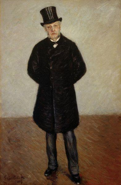 Gustave Caillebotte-Portrait de Jean Daurelle