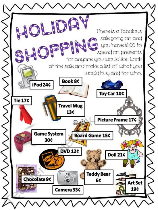 Shopping with a budget. Brownie Financial Literacy Badge