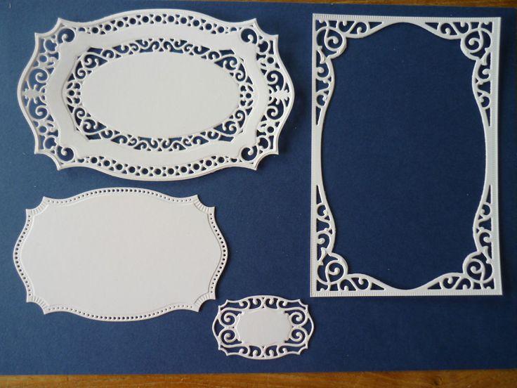 Spellbinders Nestabilities 8 Majestic Labels 25 Die cuts. in Crafts, Cardmaking & Scrapbooking, Die-Cut Shapes & Punchies | eBay