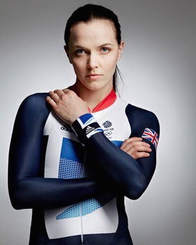 Team GB cyclist Victoria Pendleton