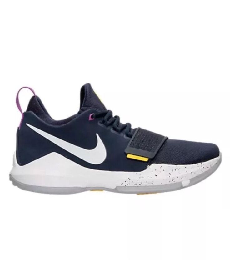 Nike PG 1 Mens Basketball Shoes 11.5 Obsidian White Gold 878627 417 Paul George #Nike #BasketballShoes