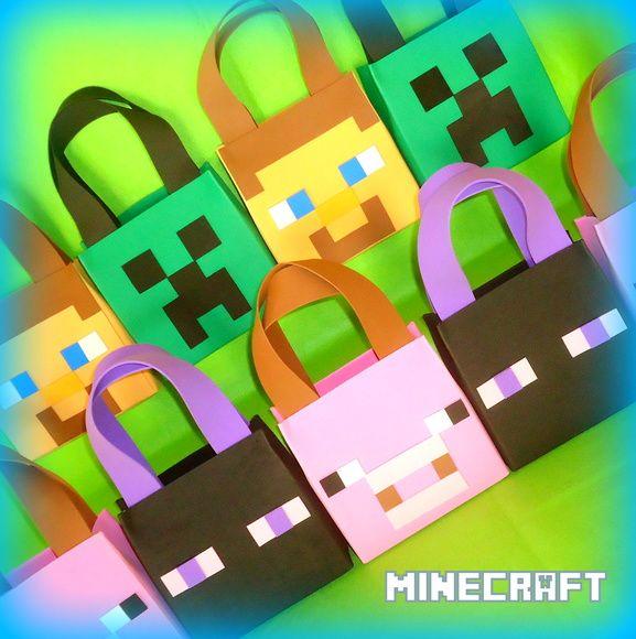 Bolsinha Surpresa Minecraft
