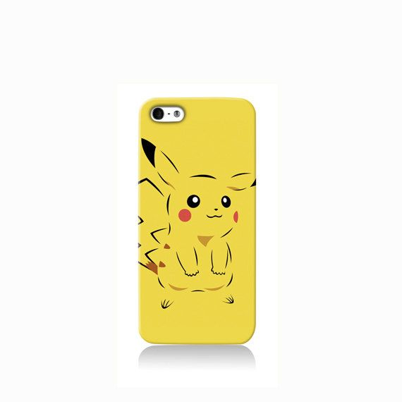 Yellow Pikachu is available for Galaxy S3, Galaxy S5, LG G3, Nexus 5, iPhone 4/4S, iPhone 5/5s, iPhone 5c and new iPhone 6. The picture shows the
