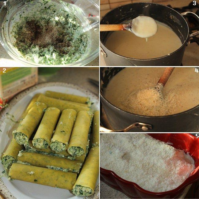 preparare cannelloni