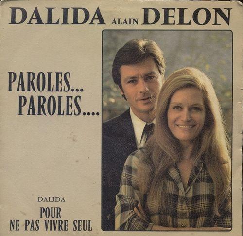 Dalida & Alain Delon - Paroles Paroles