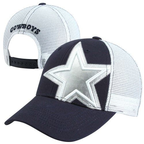 2013 New Era Dallas Cowboys Women's Snyder Adjustable Hat - Navy Blue