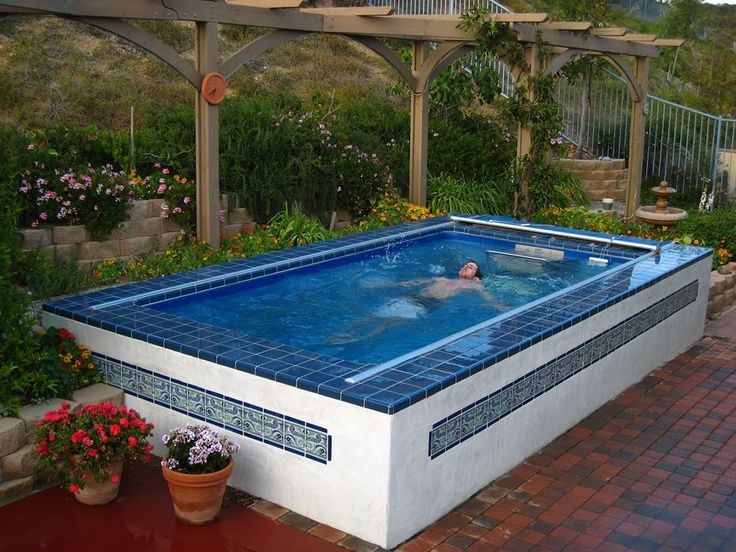 23 Best Endless Pool Dream Images On Pinterest Backyard Ideas Garden Ideas And Yard Crashers