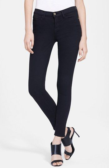 Frame Denim 'Le Color' Skinny Jeans (Film Noir) | Nordstrom 184
