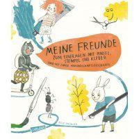 Meine Freunde - Freundebuch für den Kindergarten
