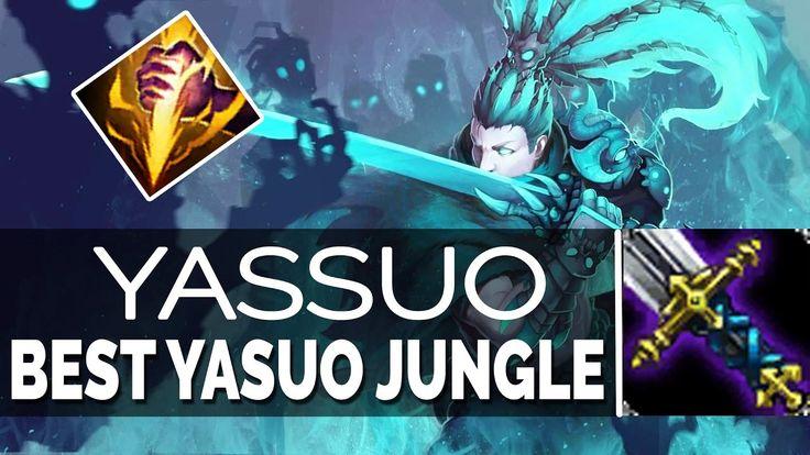 YASSUO Best Yasuo NA SoloQ - BEST YASUO JUNGLE vs ELISE 6.24 Season 7   ...