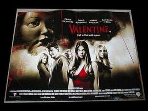 Valentine  FULL MOVIE _ 2001 Valentine (2001)[1] Horror, Thriller [USA:R[2] , 1 h 36 min] Denise Richards, David Boreanaz, Marley Shelton, Jessica Capshaw Director: Jamie Blanks https://www.youtube.com/watch?v=iDlH8MD_I8o Writers: Gretchen J. Berg, Aaron Harberts, Donna Powers, Wayne Powers IMDb user rating: [3] ★★★★★☆☆☆☆☆ 4.6/10 (17,703 votes) Valentine's Day 1988: At the school dance, geeky Jeremy Melton brave