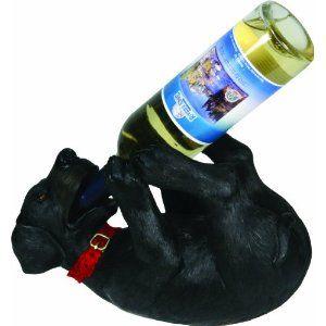 Rivers Edge Wine Bottle Holder --- http://www.amazon.com/Rivers-Edge-Painted-Bottle-Holder/dp/B001UCD270/?tag=lovyoupet0e-20