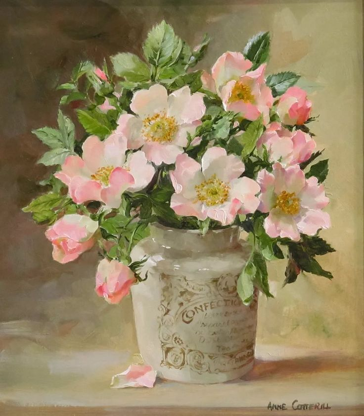 Цветы в живописи картинки, именем виктория