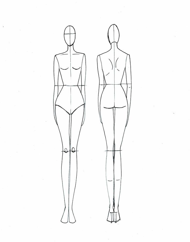 491 best Croqui template images on Pinterest | Fashion sketches ...