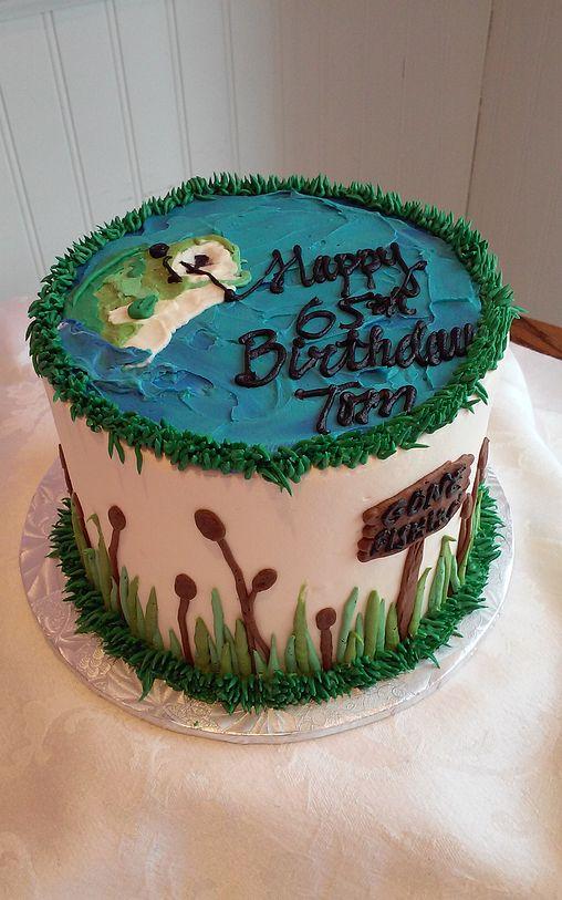 Fishing Themed Birthday Cake Sweetpea Cakes Bakery