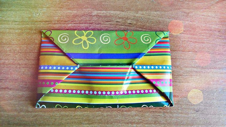 DIY : Как сделать конверт из бумаги | Оригами  ★ Hobby Girls ★