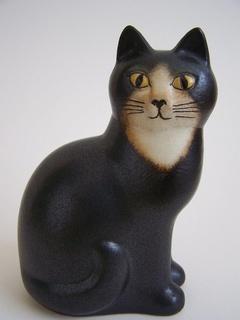 Lisa Larson Gustavsberg cat