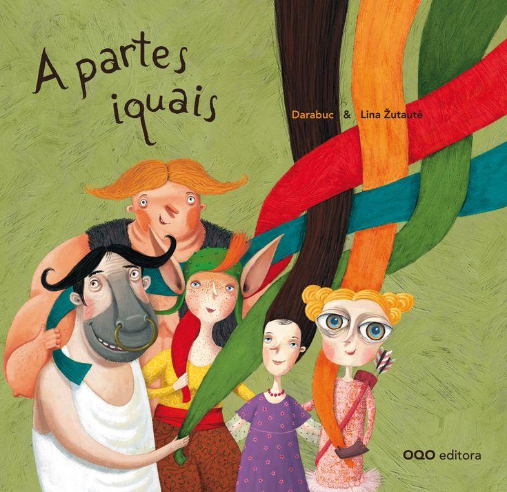 """""""A partes iguais"""" - Autor Darabuc - OQO --- A partes iguais é un conto que nos amosa os beneficios de traballar en equipo e da xenerosidade, ademais de falar de desigualdades sociais que deben ser resoltas."""