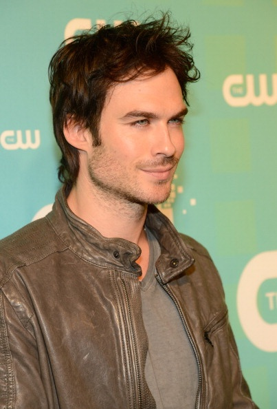 Ian Somerhalder at The CW Network's 2012 Upfront Red Carpet - The Vampire Diaries
