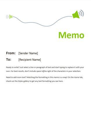 Ms De  Ideas Increbles Sobre Memo Template Word En