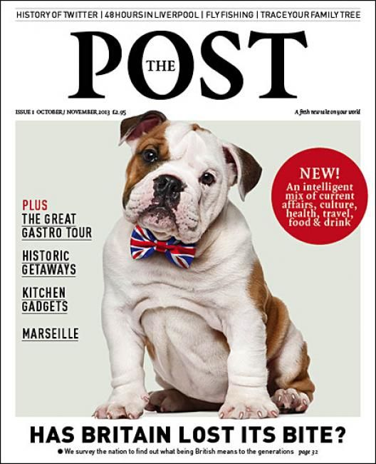 The Post (UK) Magazine Cover Of Bulldog.