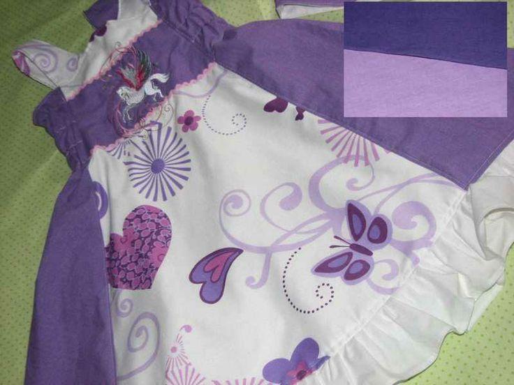 Traumhaftes+Einschulungs-Kleid+in+Gr.+122-128+von+padermamoda+auf+DaWanda.com