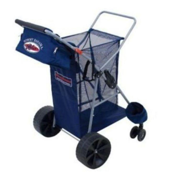 Amazon.com: Tommy Bahama All Terrain Beach Cart: Home ... |Big Wheels Beach Buggy